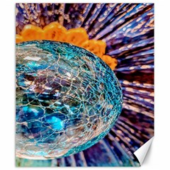 Multi Colored Glass Sphere Glass Canvas 20  X 24  by Samandel
