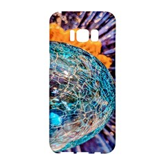 Multi Colored Glass Sphere Glass Samsung Galaxy S8 Hardshell Case
