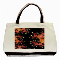 Fractal Fantasy Art Design Swirl Basic Tote Bag (two Sides)