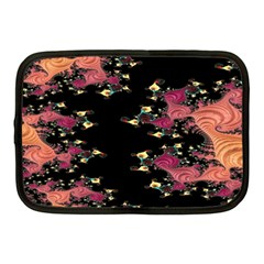 Fractal Fantasy Art Design Swirl Netbook Case (medium) by Samandel