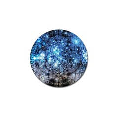 Abstract Fractal Magical Golf Ball Marker (4 Pack) by Samandel