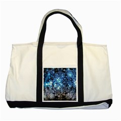 Abstract Fractal Magical Two Tone Tote Bag