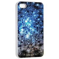 Abstract Fractal Magical Apple Iphone 4/4s Seamless Case (white)