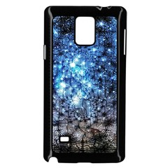 Abstract Fractal Magical Samsung Galaxy Note 4 Case (black)