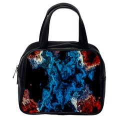 Abstract Fractal Magical Classic Handbag (one Side)