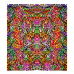 Background Psychedelic Colorful Shower Curtain 66  X 72  (large)