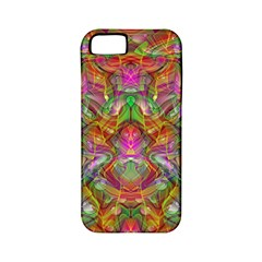 Background Psychedelic Colorful Apple Iphone 5 Classic Hardshell Case (pc+silicone)