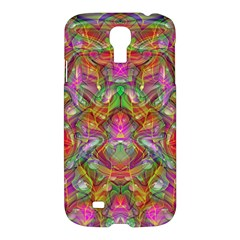 Background Psychedelic Colorful Samsung Galaxy S4 I9500/i9505 Hardshell Case