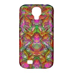 Background Psychedelic Colorful Samsung Galaxy S4 Classic Hardshell Case (pc+silicone)