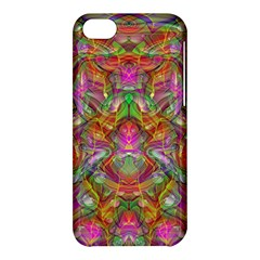 Background Psychedelic Colorful Apple Iphone 5c Hardshell Case