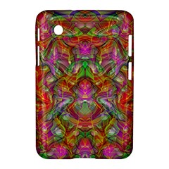 Background Psychedelic Colorful Samsung Galaxy Tab 2 (7 ) P3100 Hardshell Case