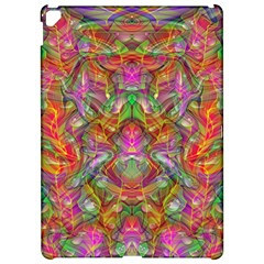 Background Psychedelic Colorful Apple Ipad Pro 12 9   Hardshell Case by Samandel