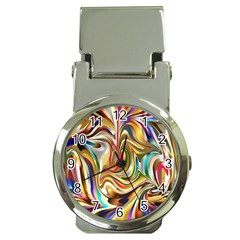 Wallpaper Psychedelic Background Money Clip Watches by Samandel