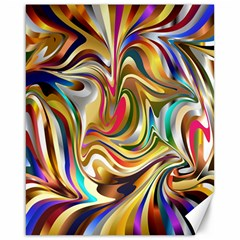 Wallpaper Psychedelic Background Canvas 16  X 20