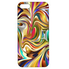 Wallpaper Psychedelic Background Apple Iphone 5 Hardshell Case With Stand
