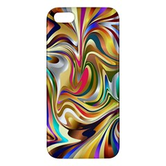 Wallpaper Psychedelic Background Iphone 5s/ Se Premium Hardshell Case