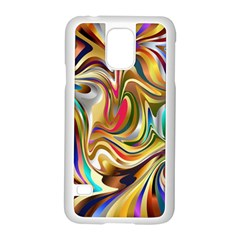 Wallpaper Psychedelic Background Samsung Galaxy S5 Case (white)