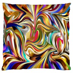 Wallpaper Psychedelic Background Standard Flano Cushion Case (two Sides)