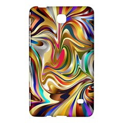 Wallpaper Psychedelic Background Samsung Galaxy Tab 4 (8 ) Hardshell Case  by Samandel