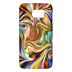 Wallpaper Psychedelic Background Samsung Galaxy S6 Hardshell Case