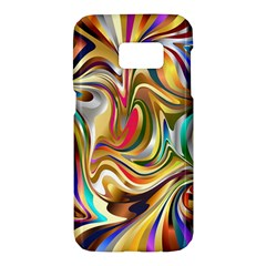 Wallpaper Psychedelic Background Samsung Galaxy S7 Hardshell Case