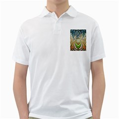 Abstract Fractal Magical Golf Shirt