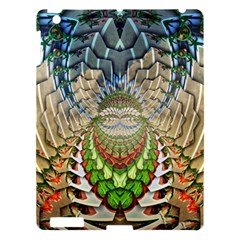 Abstract Fractal Magical Apple Ipad 3/4 Hardshell Case