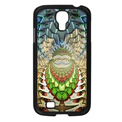 Abstract Fractal Magical Samsung Galaxy S4 I9500/ I9505 Case (black)