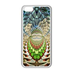 Abstract Fractal Magical Apple Iphone 5c Seamless Case (white)