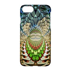 Abstract Fractal Magical Apple Iphone 7 Hardshell Case by Samandel