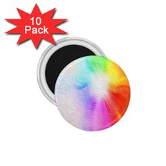 Psychedelic Background Wallpaper 1 75  Magnets (10 Pack)