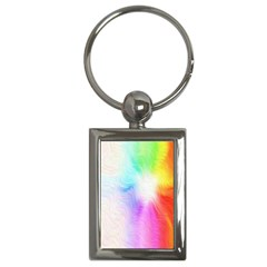 Psychedelic Background Wallpaper Key Chains (rectangle)