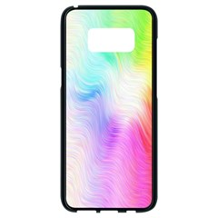 Psychedelic Background Wallpaper Samsung Galaxy S8 Black Seamless Case
