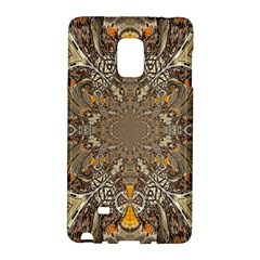 Abstract Digital Geometric Pattern Samsung Galaxy Note Edge Hardshell Case