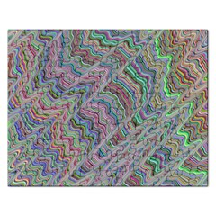 Psychedelic Background Rectangular Jigsaw Puzzl