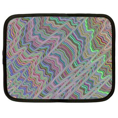 Psychedelic Background Netbook Case (xxl)