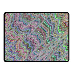 Psychedelic Background Fleece Blanket (small) by Samandel