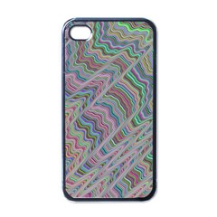 Psychedelic Background Apple Iphone 4 Case (black)