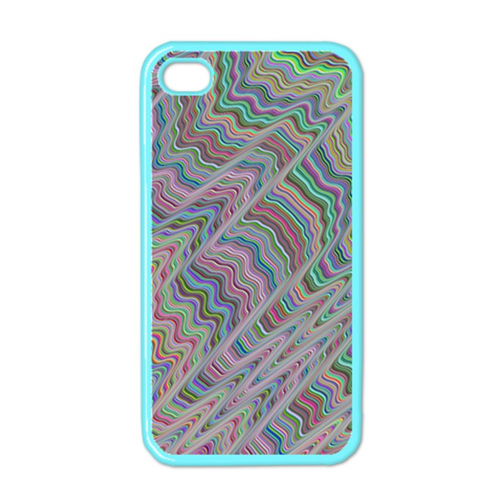 Psychedelic Background Apple iPhone 4 Case (Color)