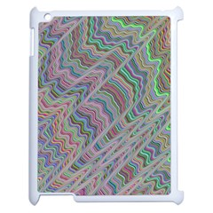 Psychedelic Background Apple Ipad 2 Case (white) by Samandel