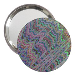 Psychedelic Background 3  Handbag Mirrors