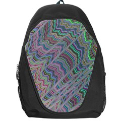 Psychedelic Background Backpack Bag