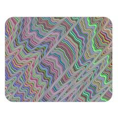 Psychedelic Background Double Sided Flano Blanket (large)