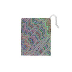 Psychedelic Background Drawstring Pouch (xs) by Samandel