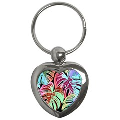 Pretty Leaves A Key Chains (heart)  by MoreColorsinLife