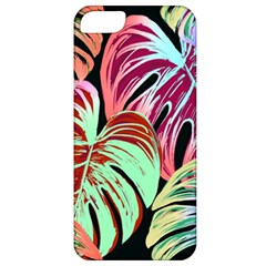 Pretty Leaves A Apple Iphone 5 Classic Hardshell Case by MoreColorsinLife