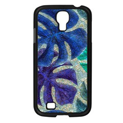 Pretty Leaves 6 Samsung Galaxy S4 I9500/ I9505 Case (black) by MoreColorsinLife