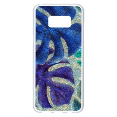 Pretty Leaves 6 Samsung Galaxy S8 Plus White Seamless Case by MoreColorsinLife