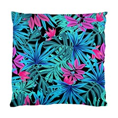 Pretty Leaves 4a Standard Cushion Case (two Sides) by MoreColorsinLife