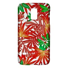 Pretty Leaves 4b Samsung Galaxy S5 Mini Hardshell Case  by MoreColorsinLife